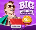Marketing Banner ad Design with 3D style