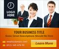 Modern Orange Business ad Design