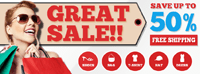 Facebook timeline cover design - Sale Sale Sale