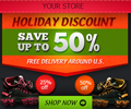 Holiday Banner ad Design