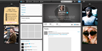 Cool Modern Twitter Background and Cover