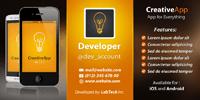 Mobile App Developer Twitter Cover Design